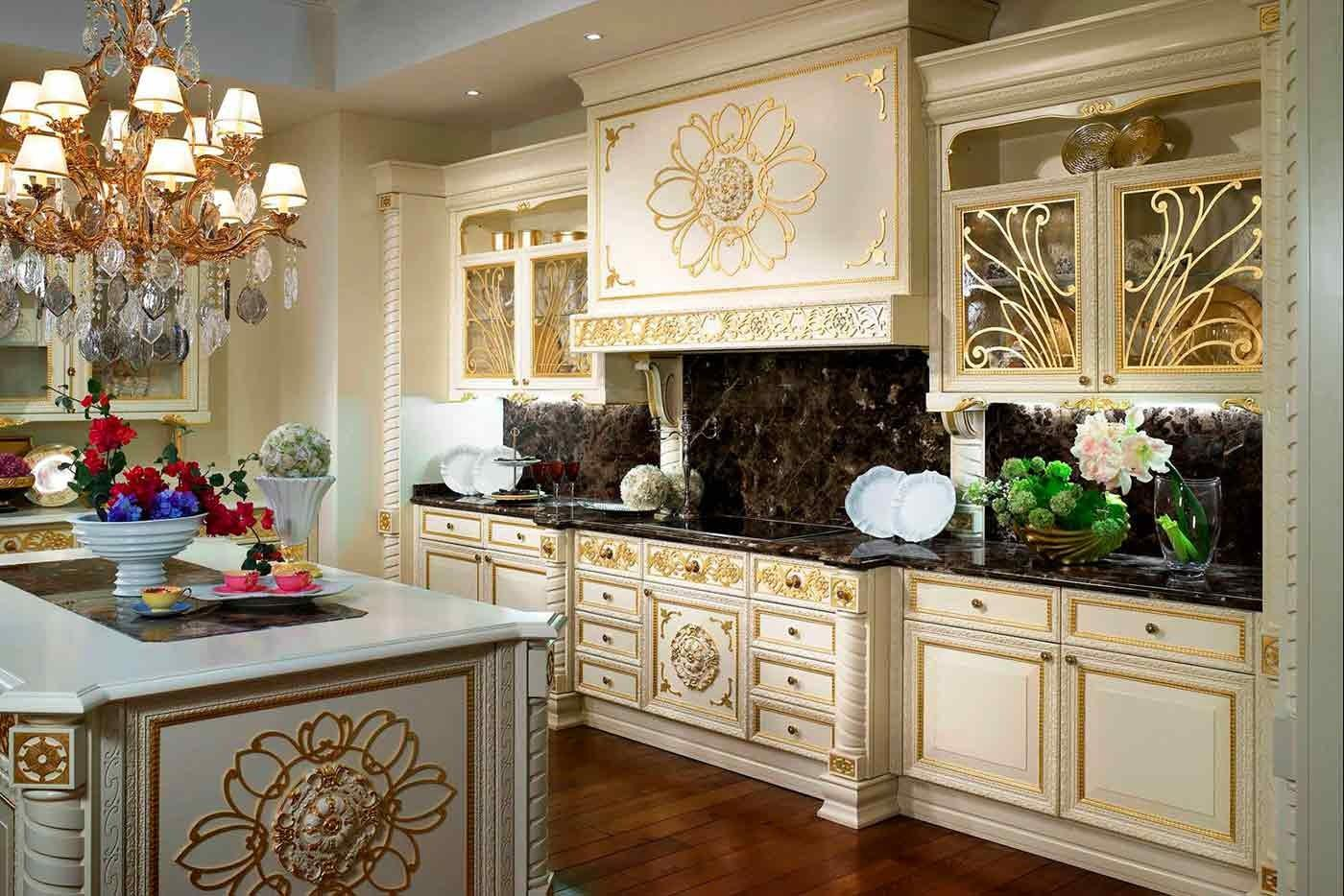 Luxury Kitchen Palace Furniture Decor