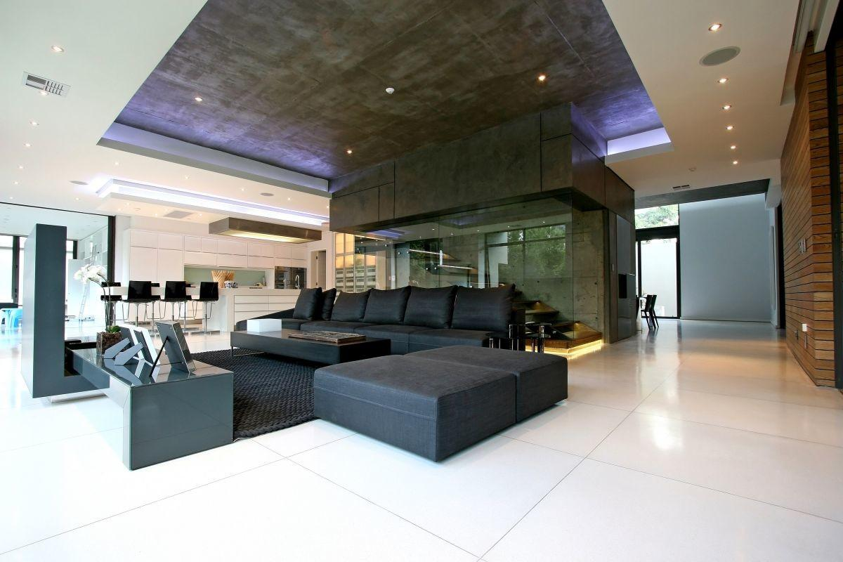 Luxury Large Contemporary House Living Room Home