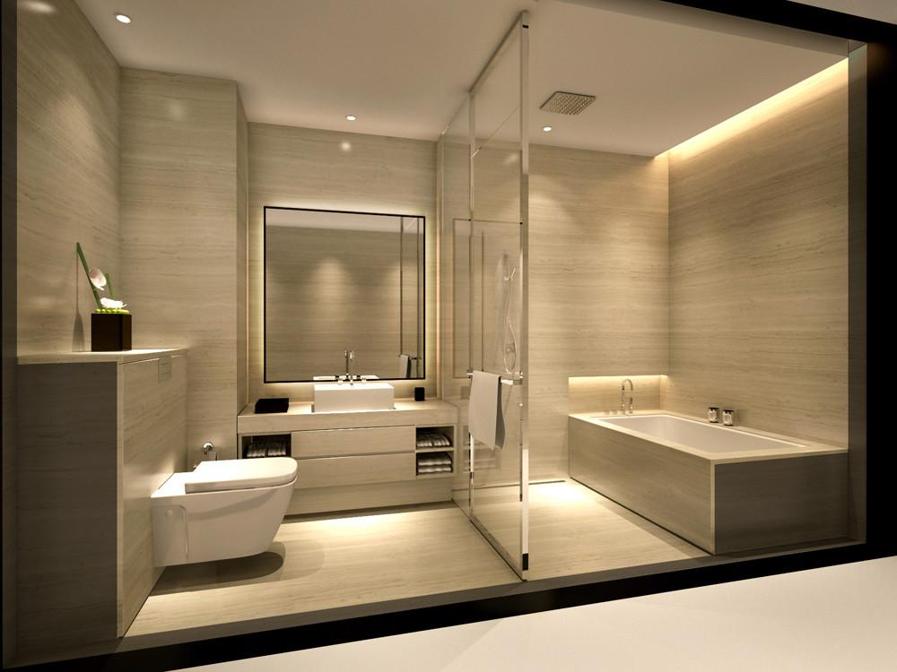 Luxury Minimalist Bathroom Hotel Ideas
