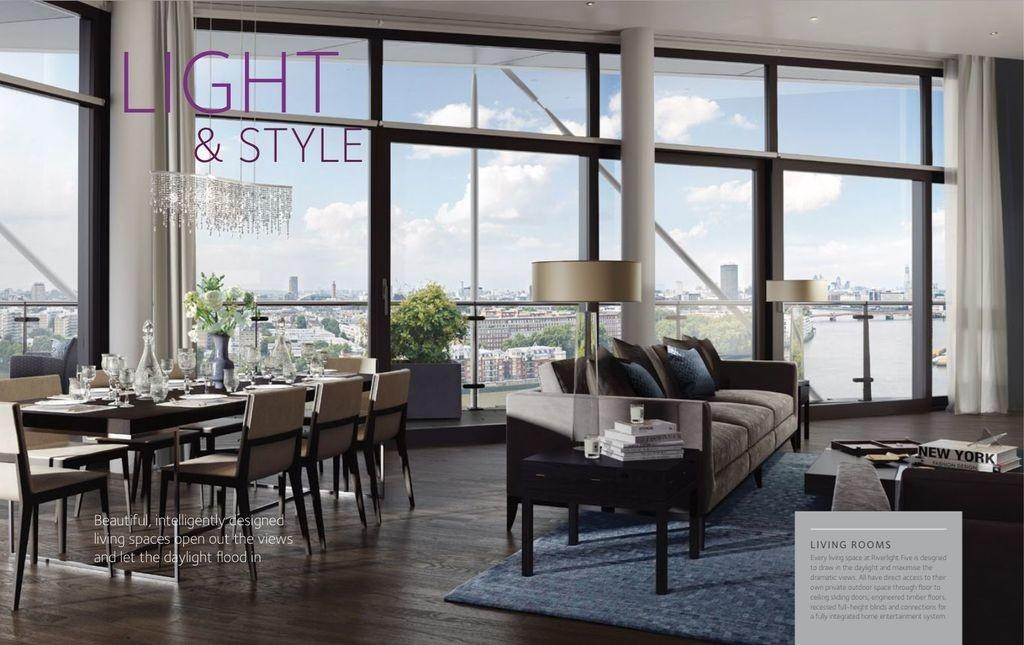 Luxury Penthouse Sale Riverlight Nine Elms