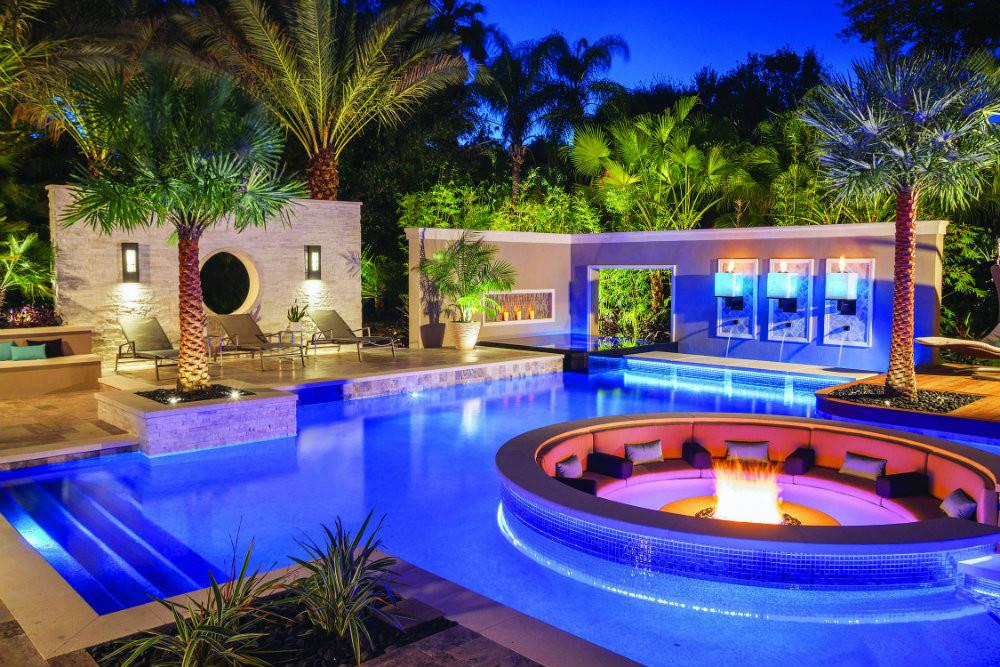 Luxury Pools Place During Summer
