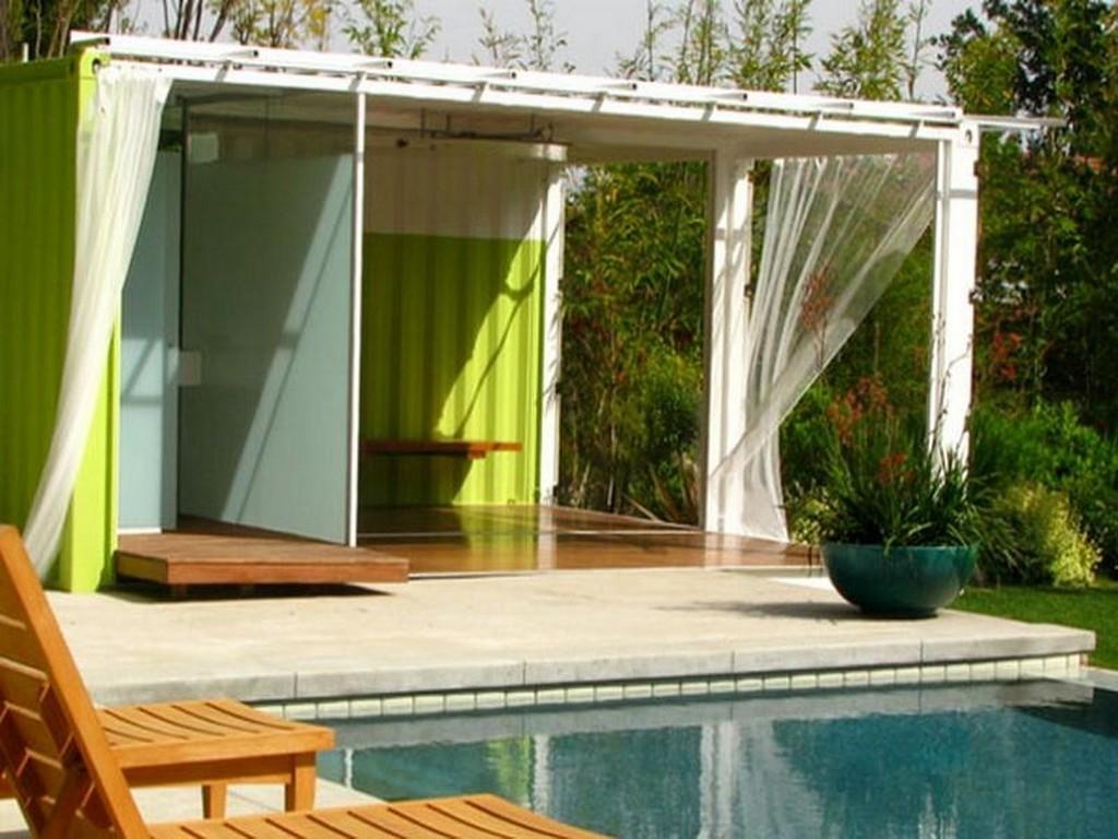 Luxury Shipping Container Home Pool Nytexas