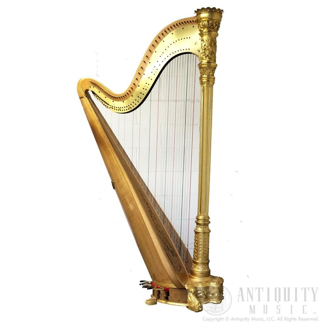 Lyon Healy Style Gold Concert Grant Pedal Harp
