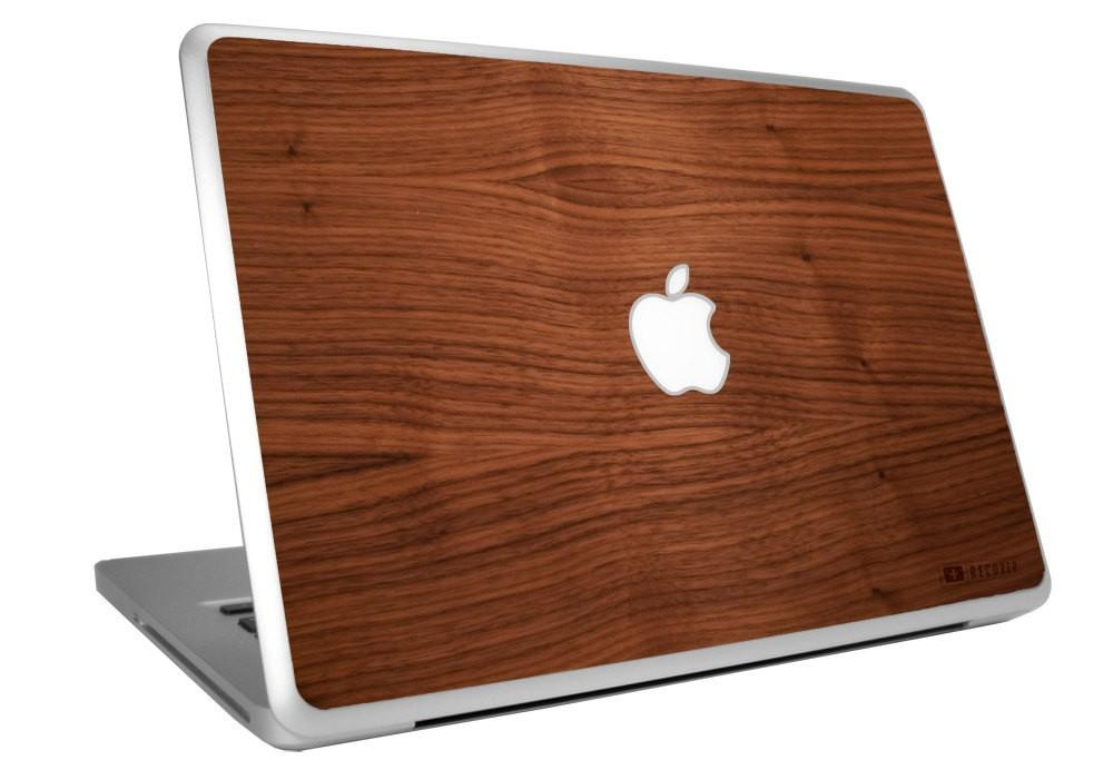 Macbook Pro Wooden Skin Natural Walnut
