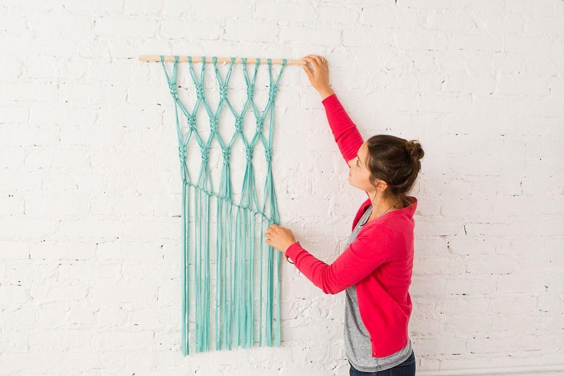Macra Make Gorgeous Macrame Wall Hanging Brit