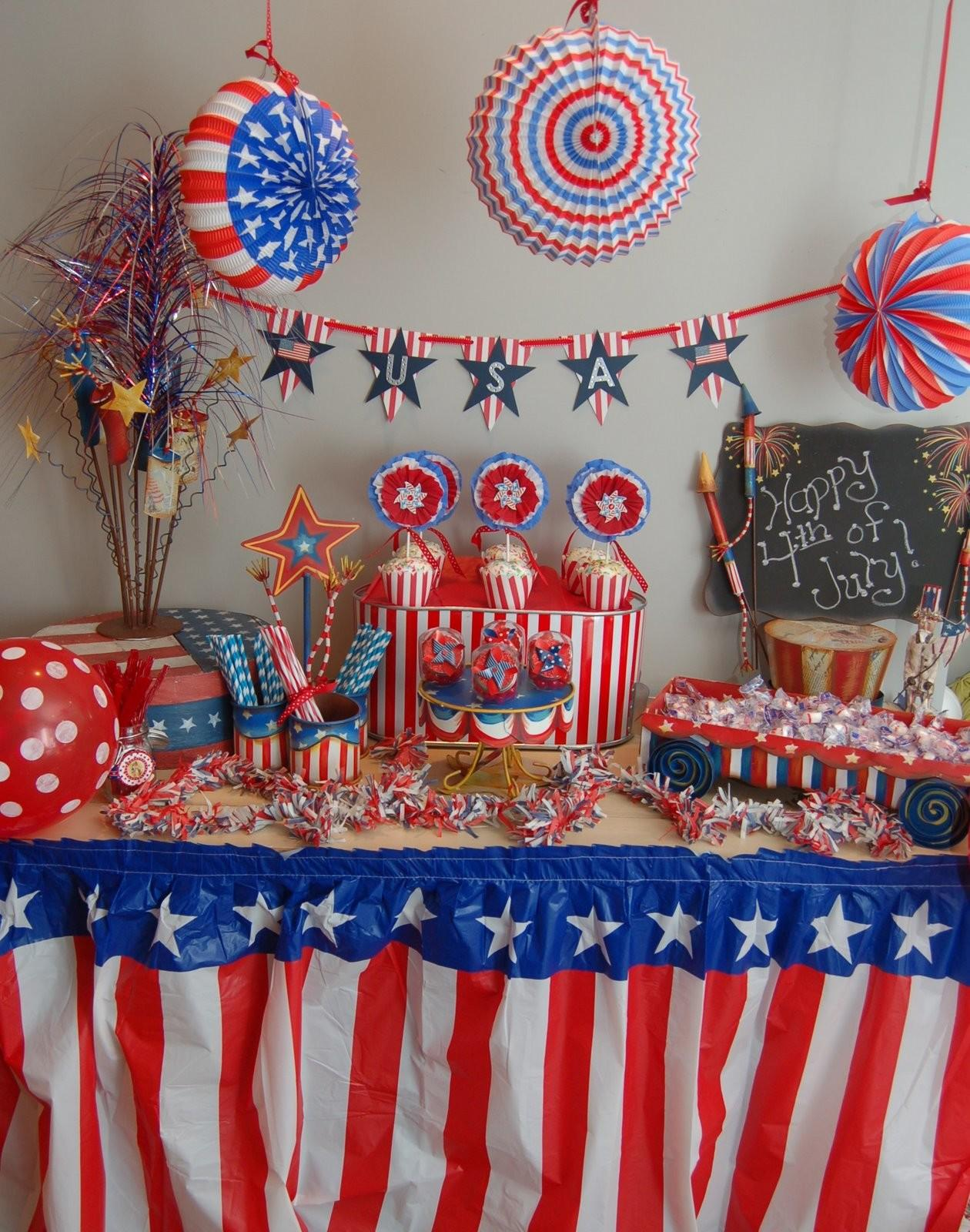 Maddyson Lane 4th July Party Table
