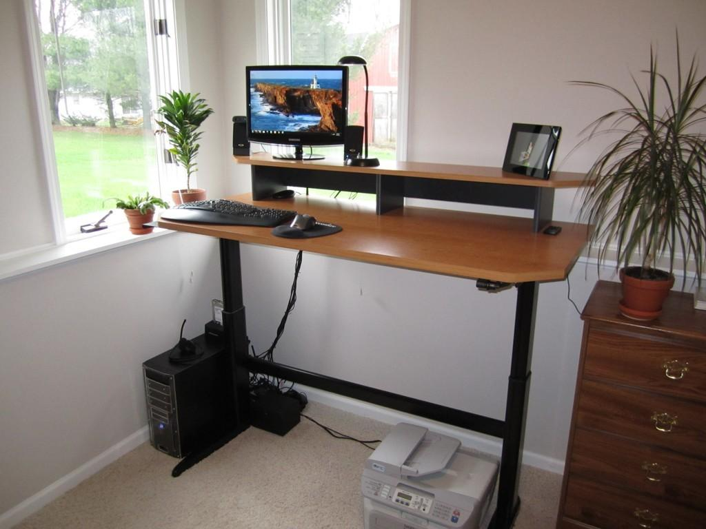 Made Adjustable Height Standing Desk Optimwise