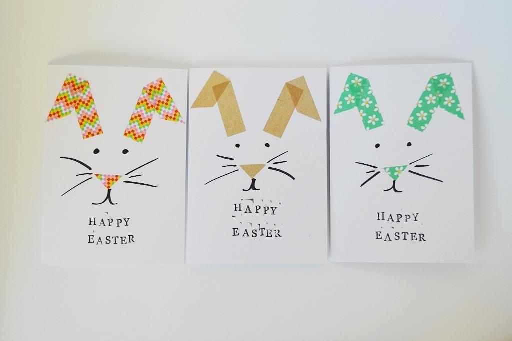 Made Easter Bunny Greeting Card Diy Mathilde Heart Manech