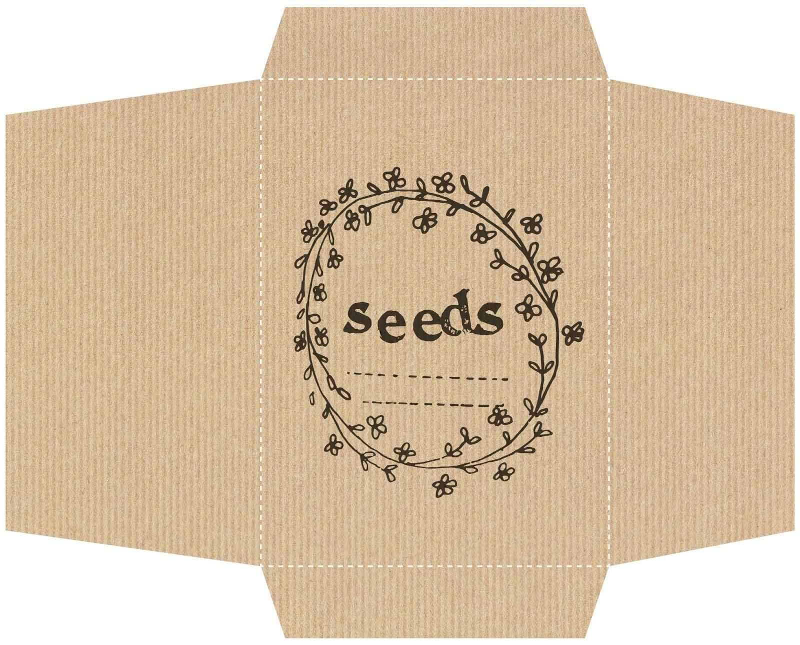 Made Home Diy Seed Packets