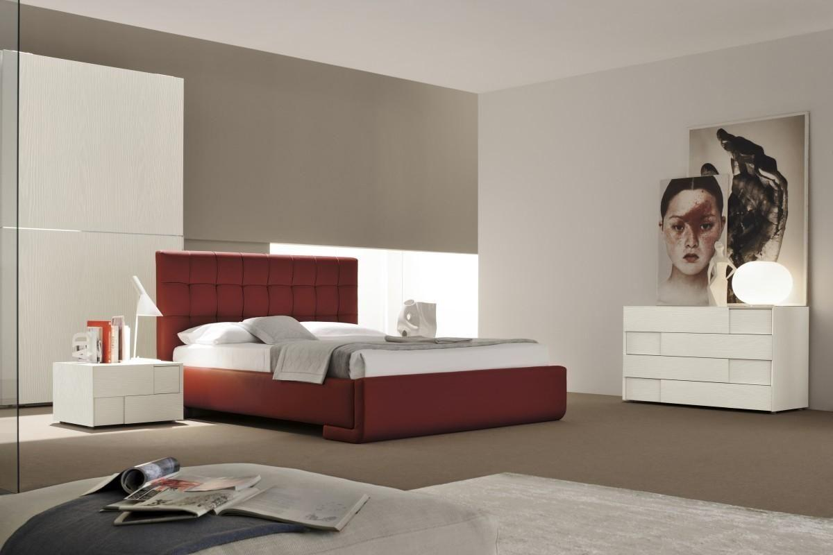 Made Italy Leather Contemporary Master Bedroom Designs