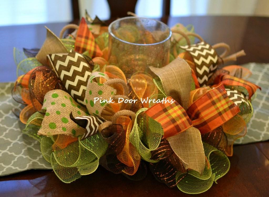 Made Order Table Centerpiece Candle Holder