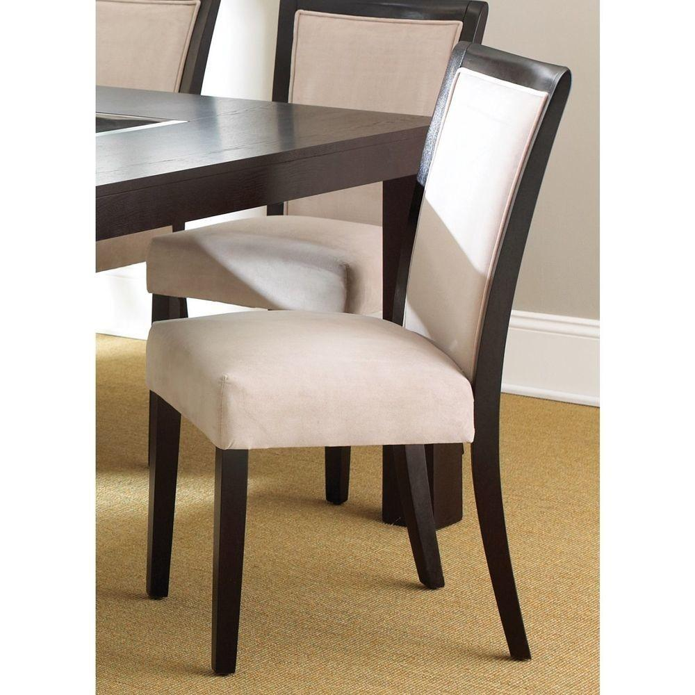 Madera Velvet Dining Chairs Set Seat Kitchen