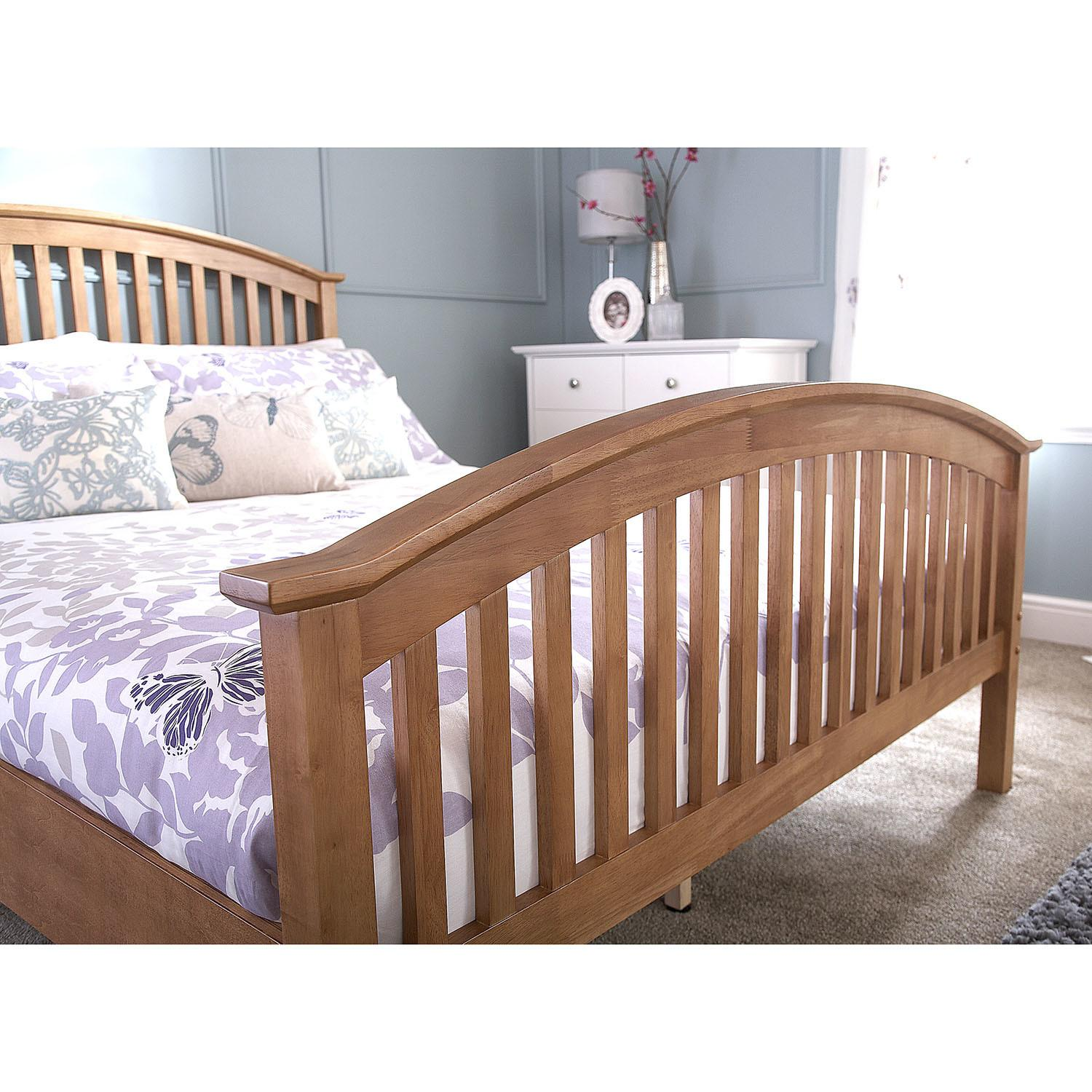 Madrid Natural High End Wooden Bed Next Day Select
