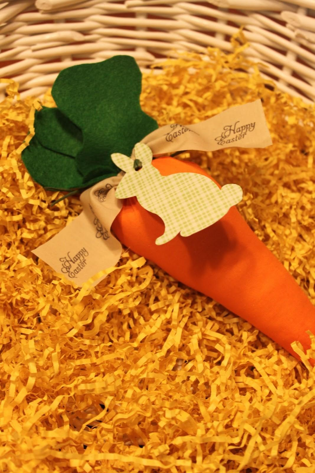Mae Armstrong Designs Diy Fabric Carrots Easter Favor