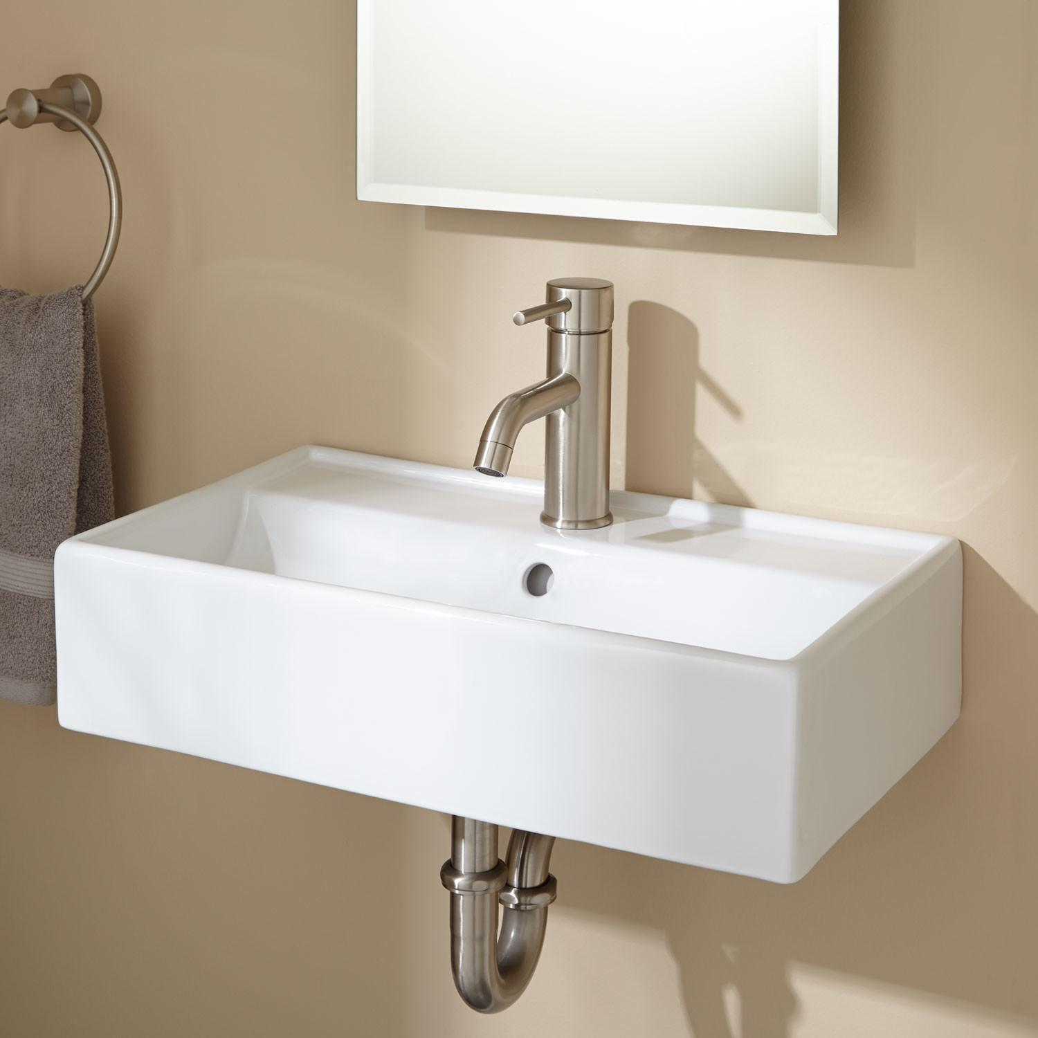 Magali Wall Mount Bathroom Sink