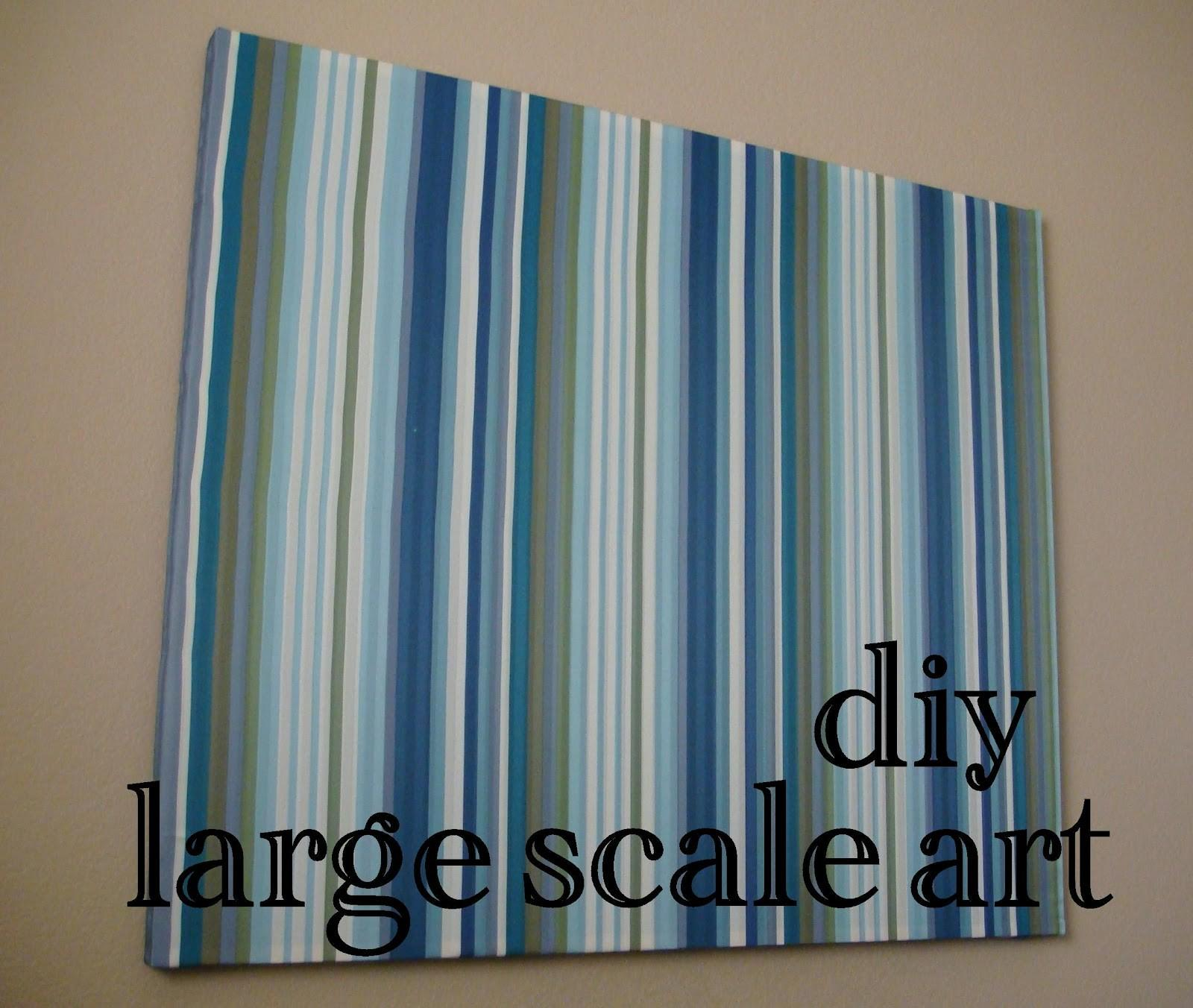 Magenta Lime Diy Large Scale Art Cheap