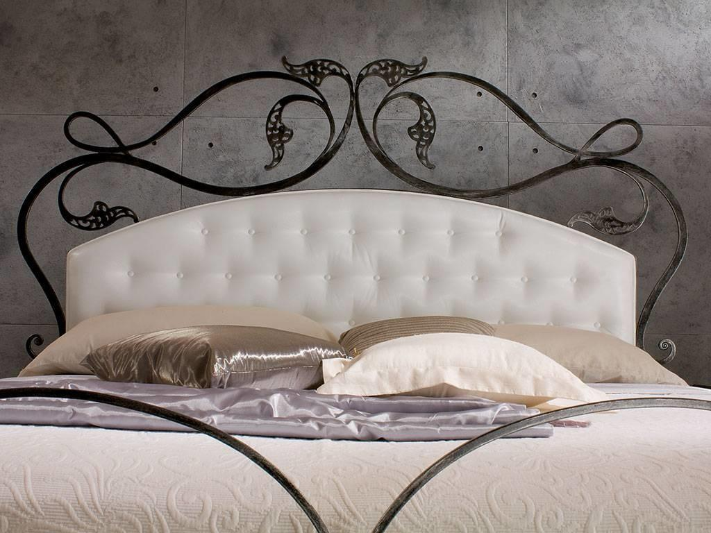 Magnificent Artistic Impression Wrought Iron Headboard