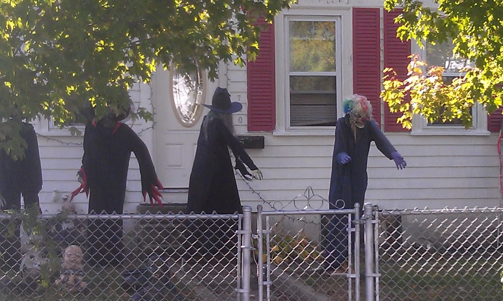 Magnificent Marvellous Halloween Decorations Outside