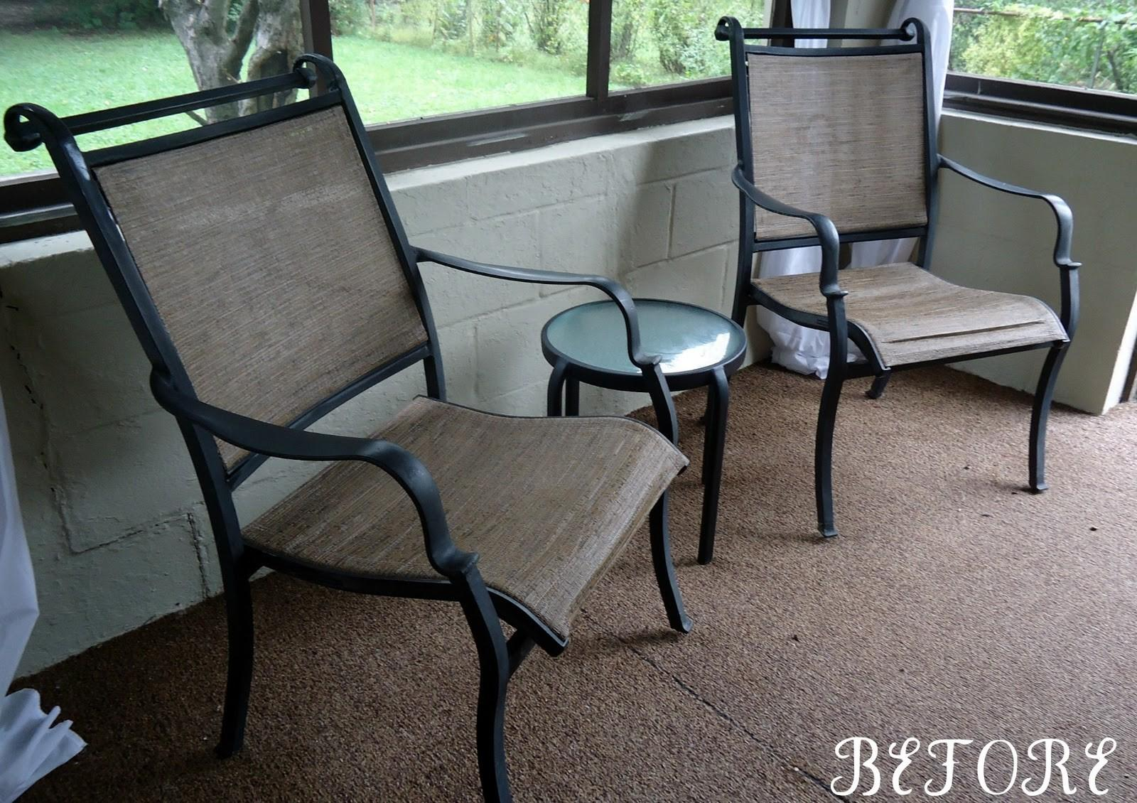Mags Lou Before After Patio Furniture