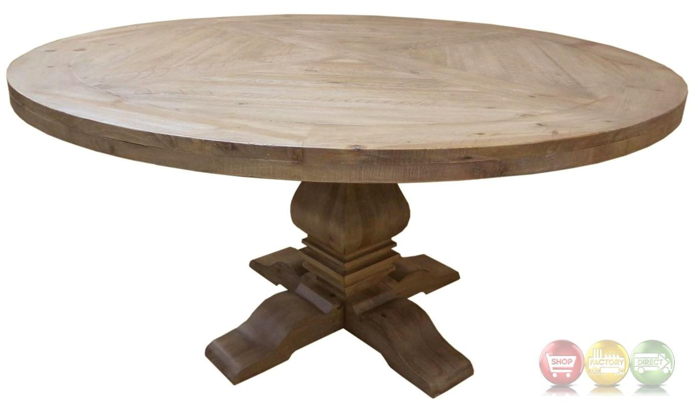 Mahogany Round Dining Table Florence