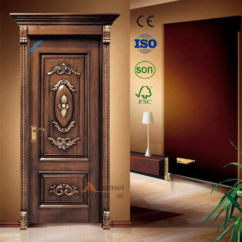 Main Door Design Wood Pakistani Kail Solid Double