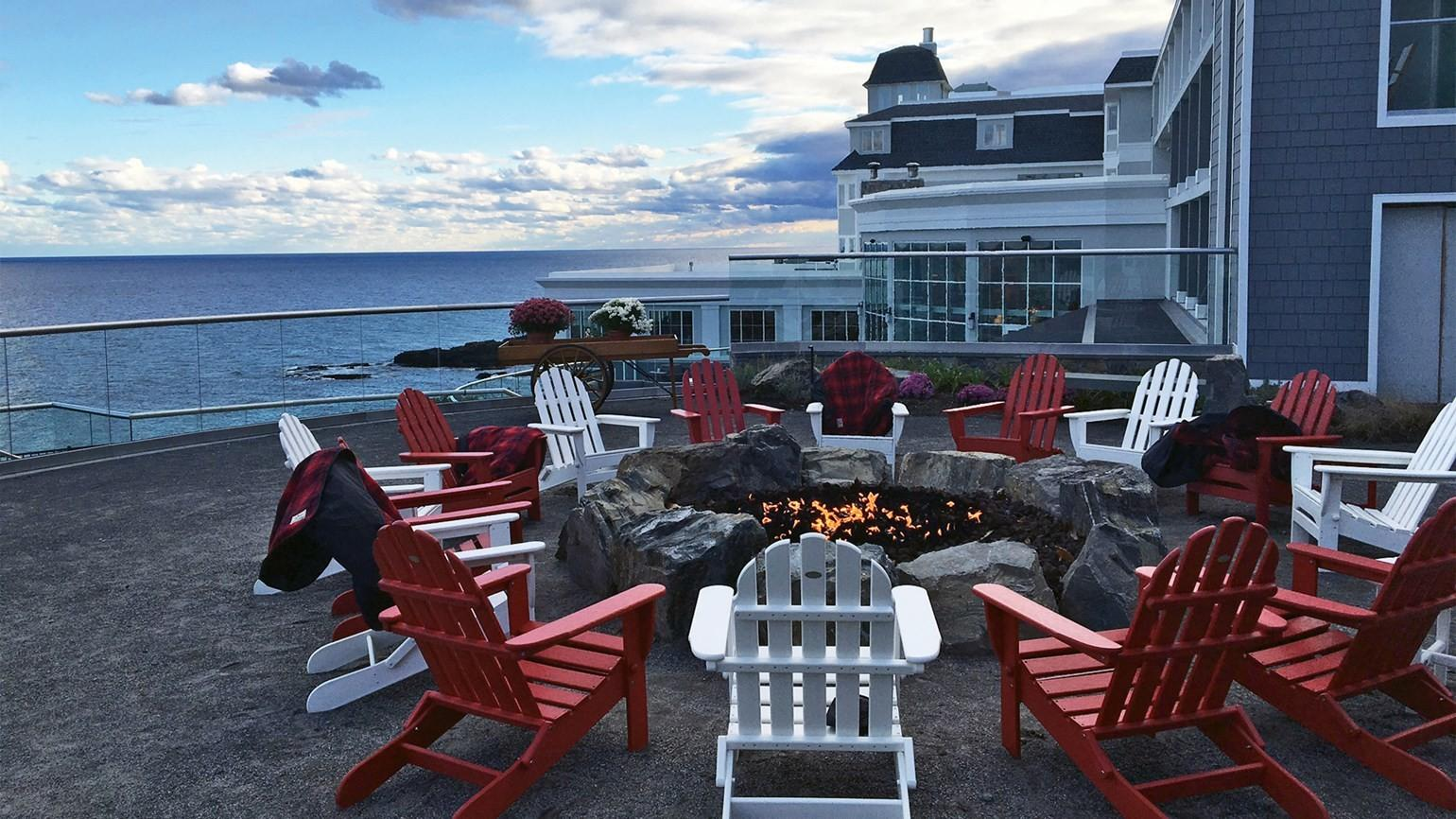 Maine Cliff House Year Round Resort First Time