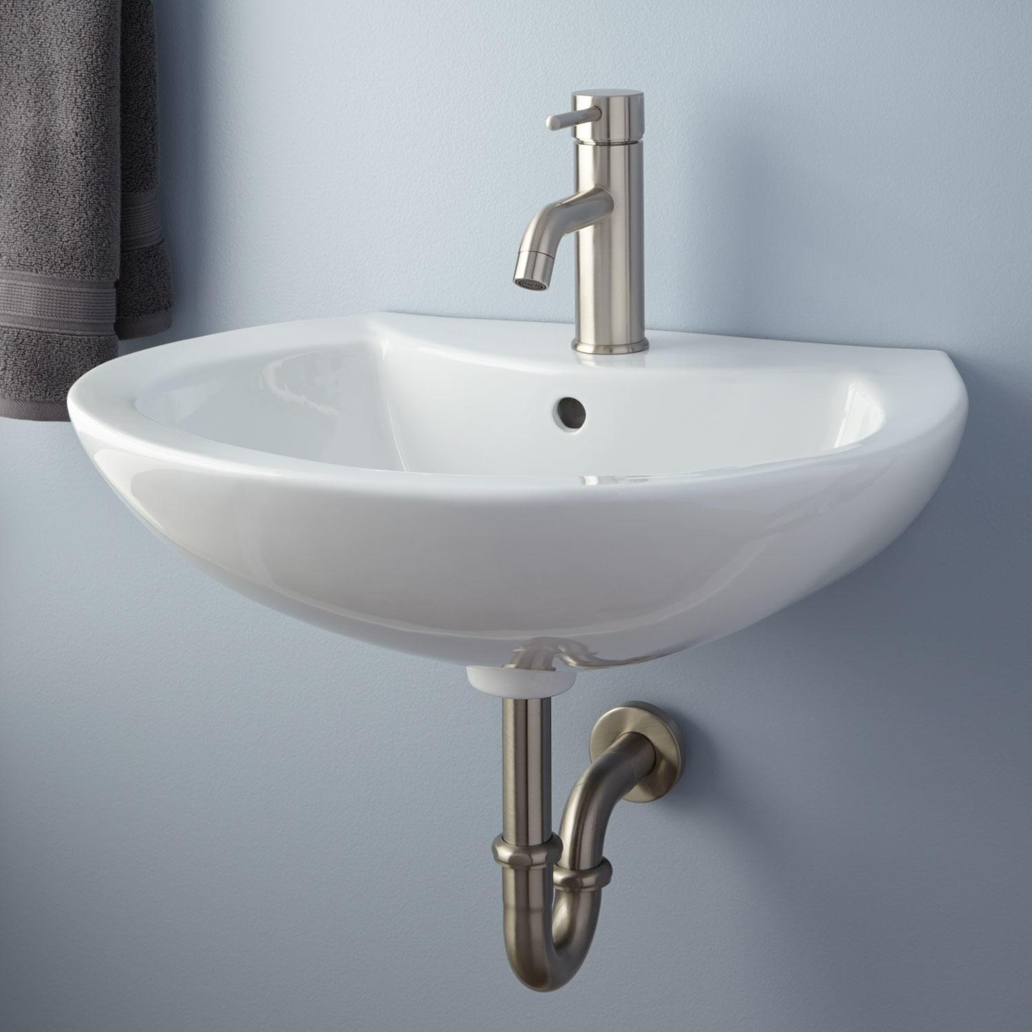 Maisie Porcelain Wall Mount Bathroom Sink