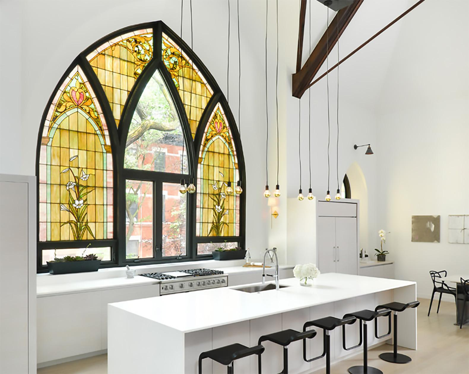 Majestic Church Transformed Into Gorgeous Modern