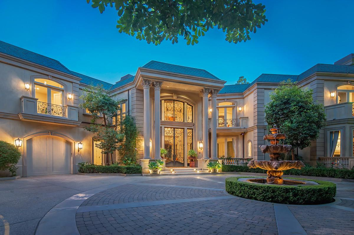 Majestic French Style Beverly Hills Villa North Sunset