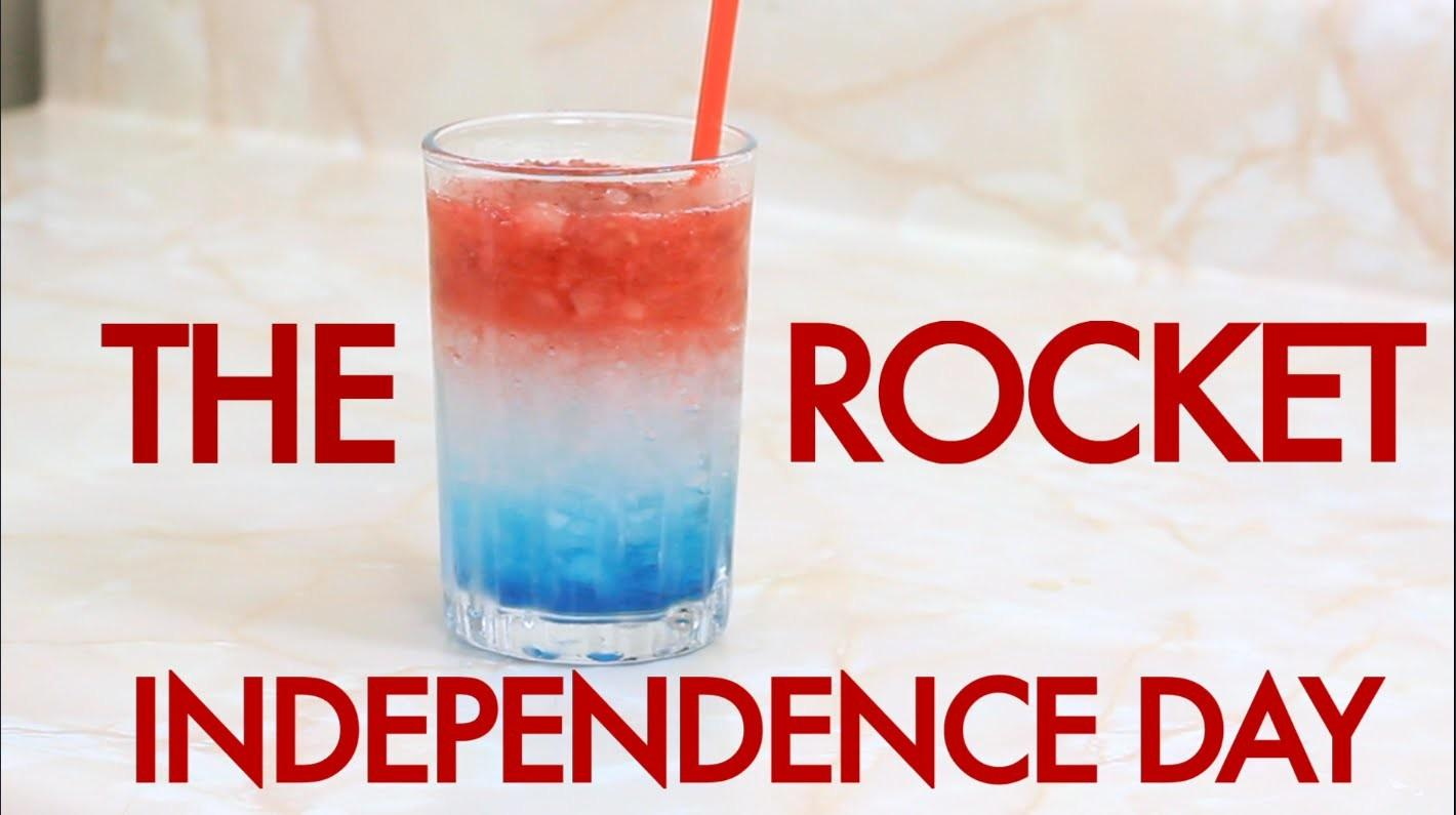 Make 4th July Independence Day Rocket Layered