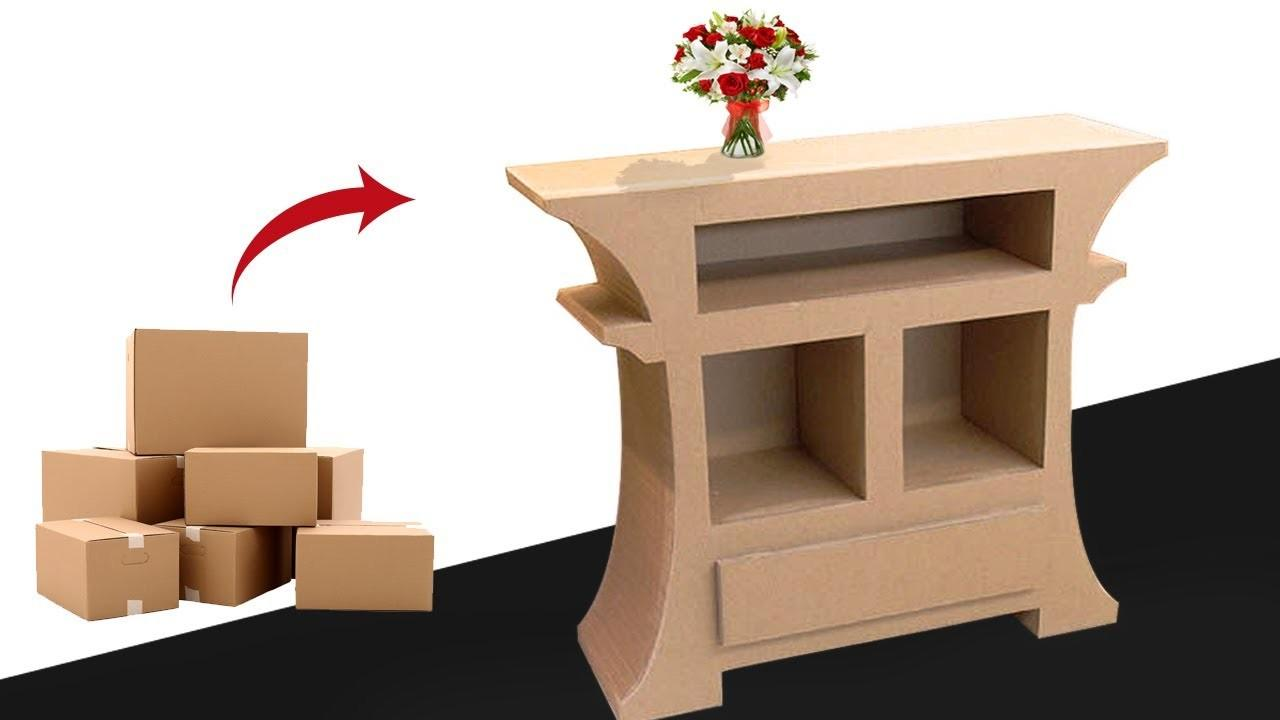 Make Amazing Furniture Diy Using Cardboard Very