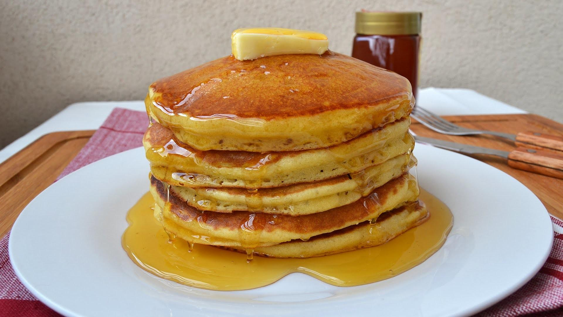 Make American Pancakes Easy Homemade Pancake