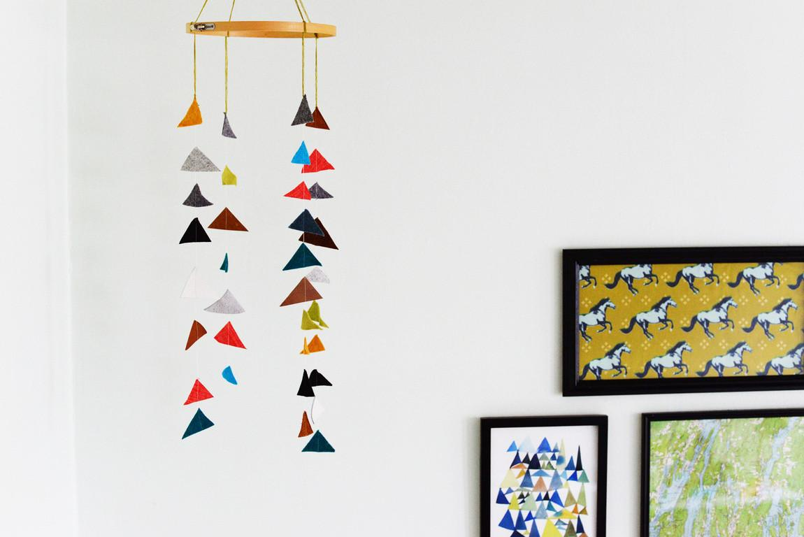 Make Baby Mobile Cute Colorful Ideas