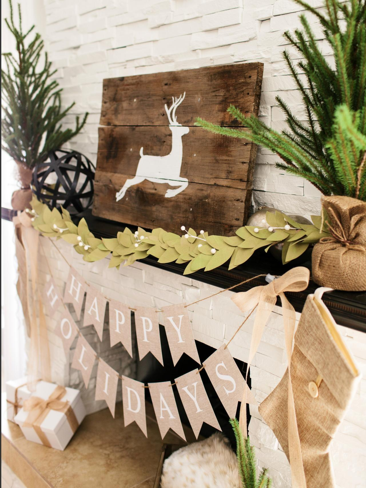 Make Bay Leaf Garland Out Paper Bags Tos Diy
