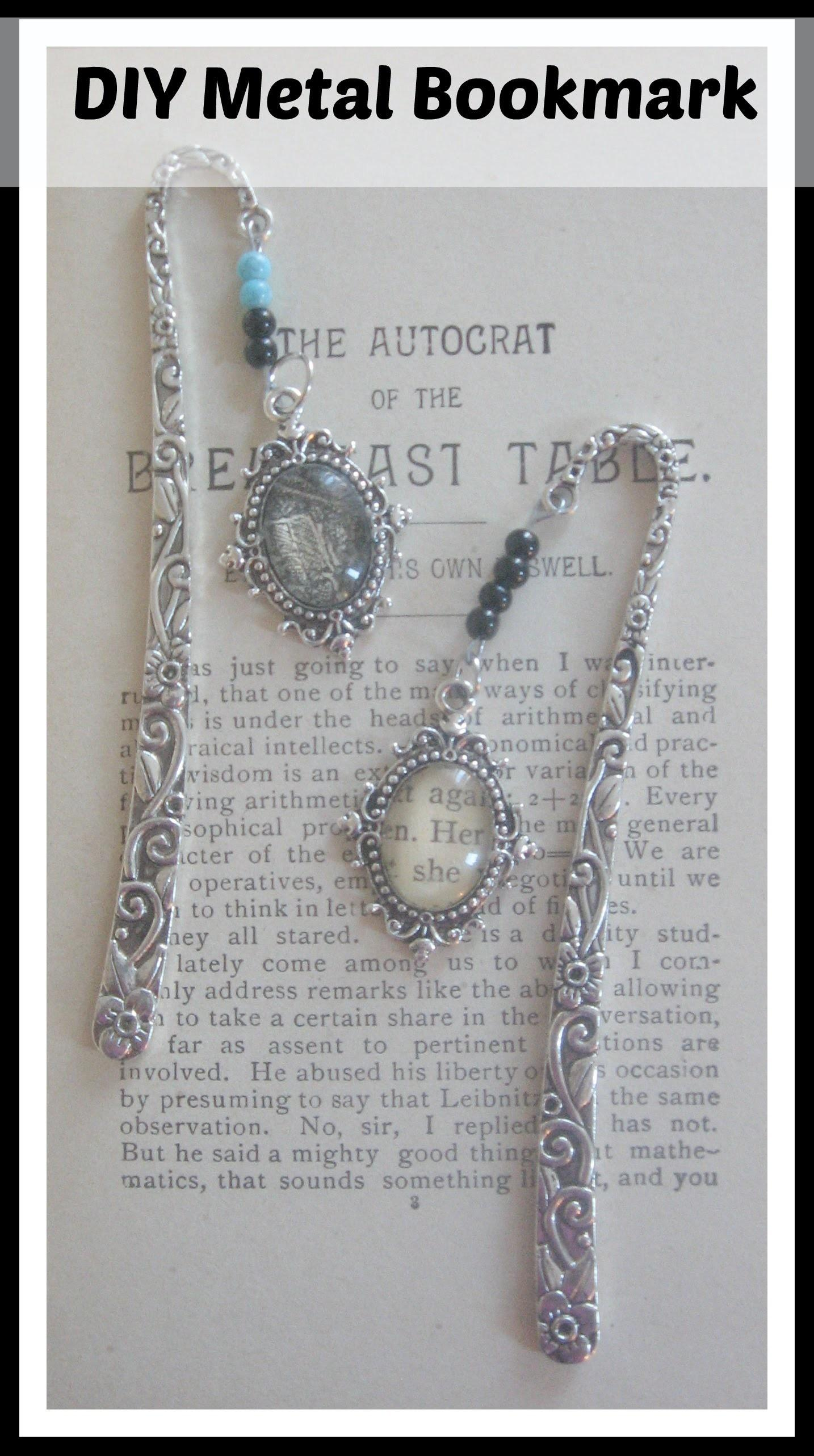 Make Beaded Metal Bookmark Easy Fun