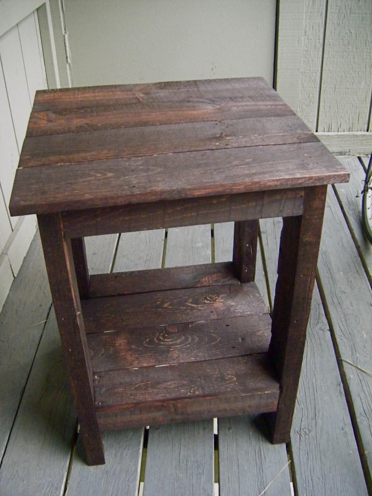 Make Bedside Table Out Wood Quick