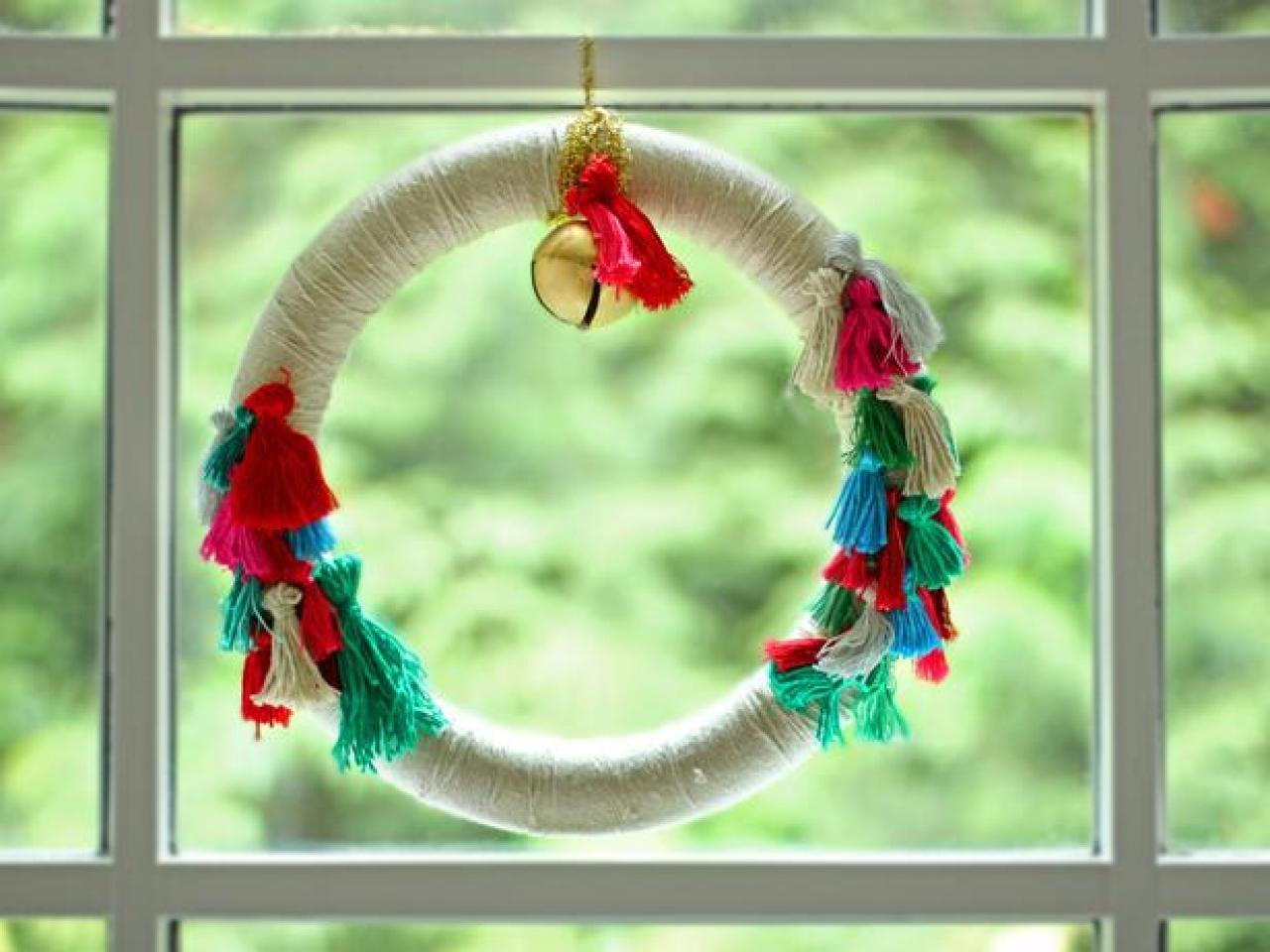 Make Bohemian Wreath Tassels Tos Diy
