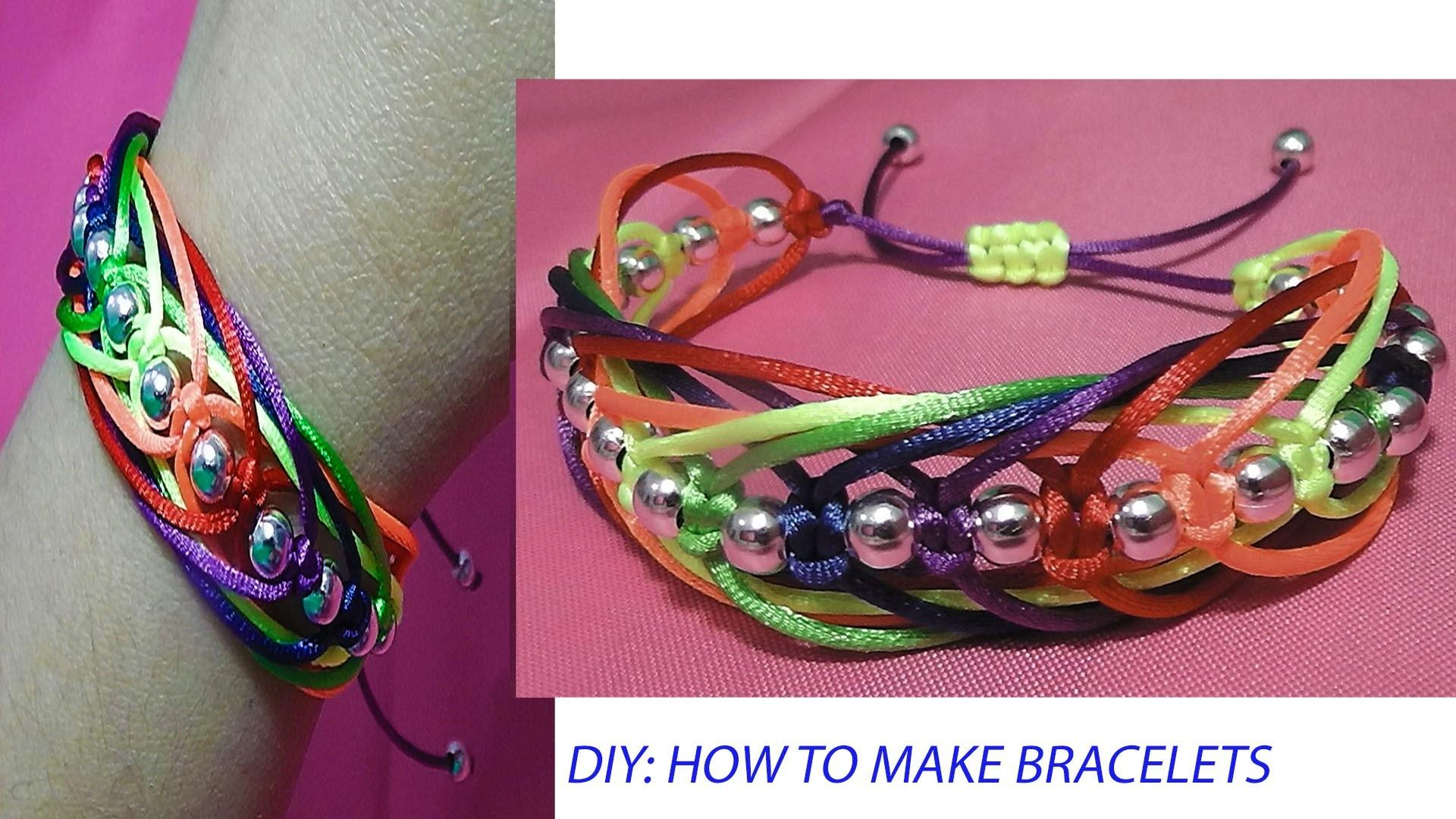 33 Most Beautiful Diy Ombre Knotted Bracelet That Are Timed Amazingly Perfect Look Fabulous Decoratorist