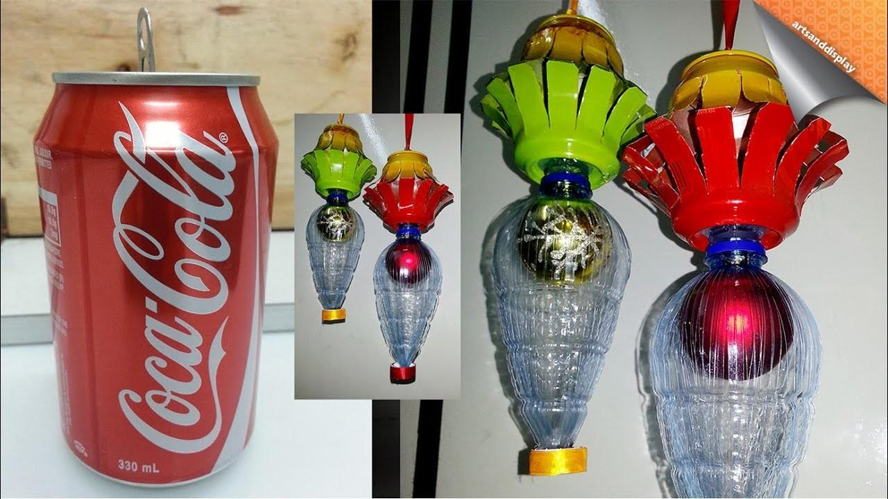 Make Christmas Lantern Using Soda Can Other