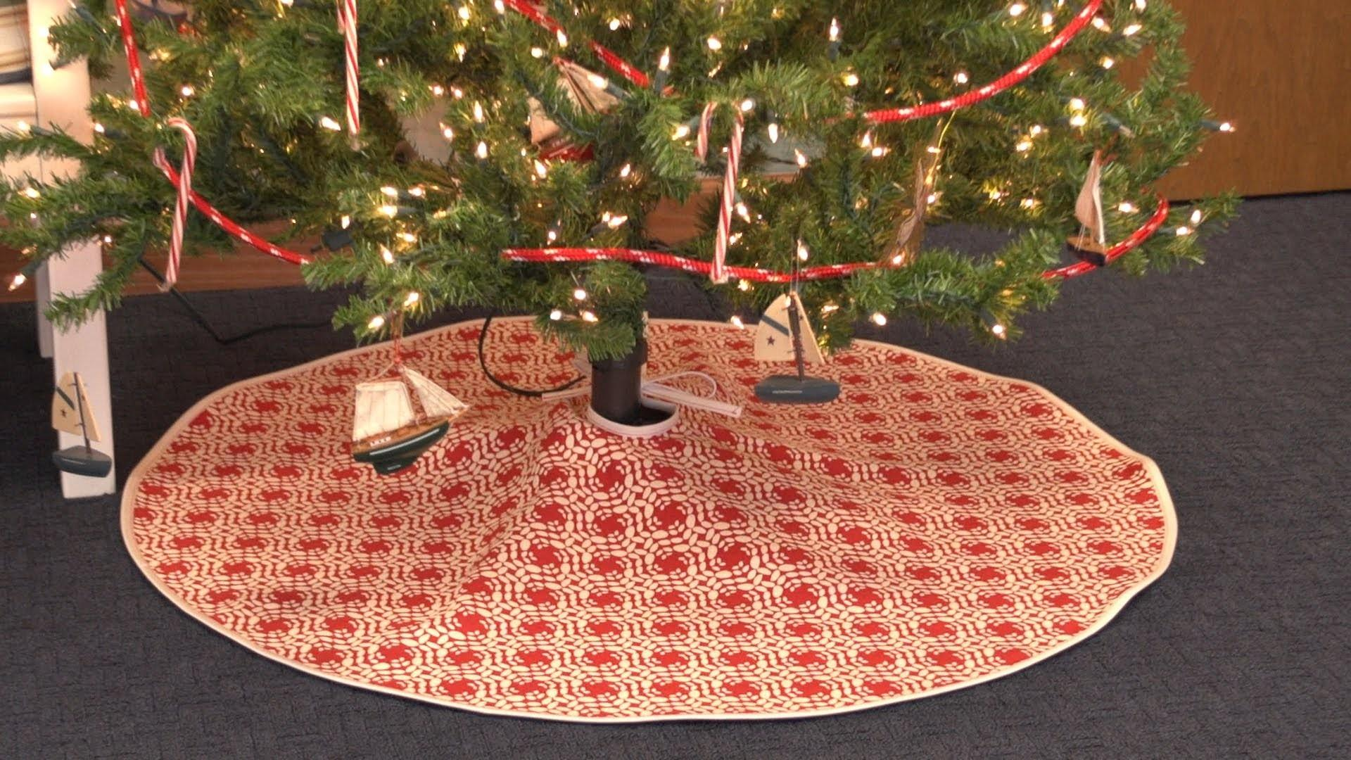 Make Christmas Tree Skirt