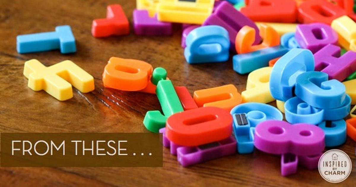 Make Classy Diy Magnetic Letters Curbly