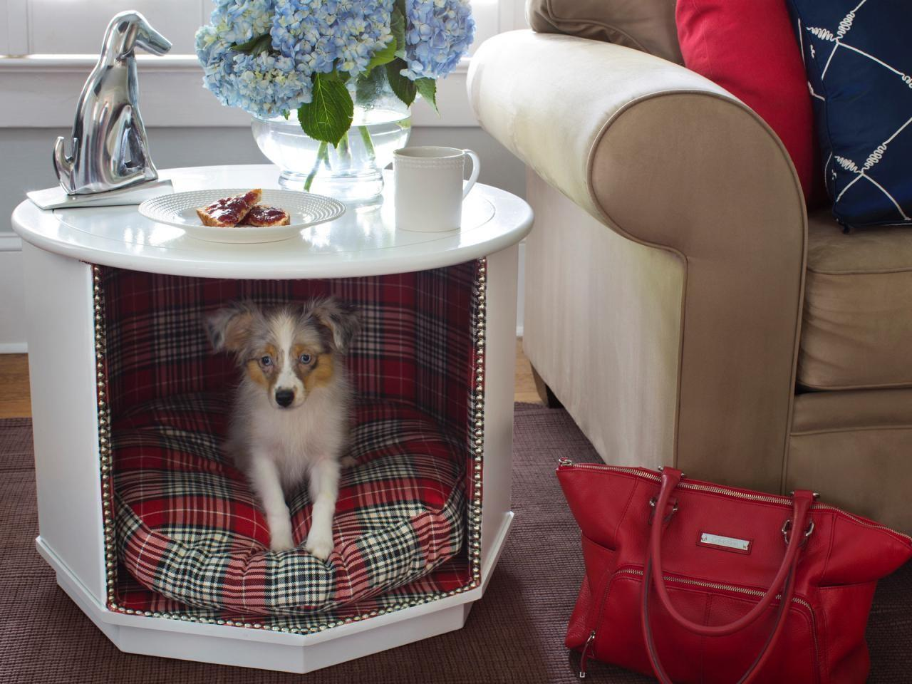 Make Combination Pet Bed End Table Tos
