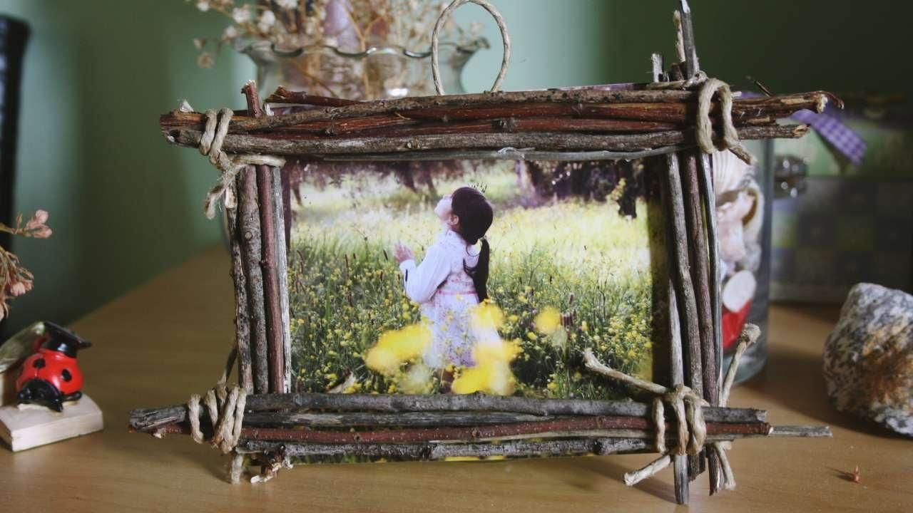 Make Country Wood Frame Your Photos Diy