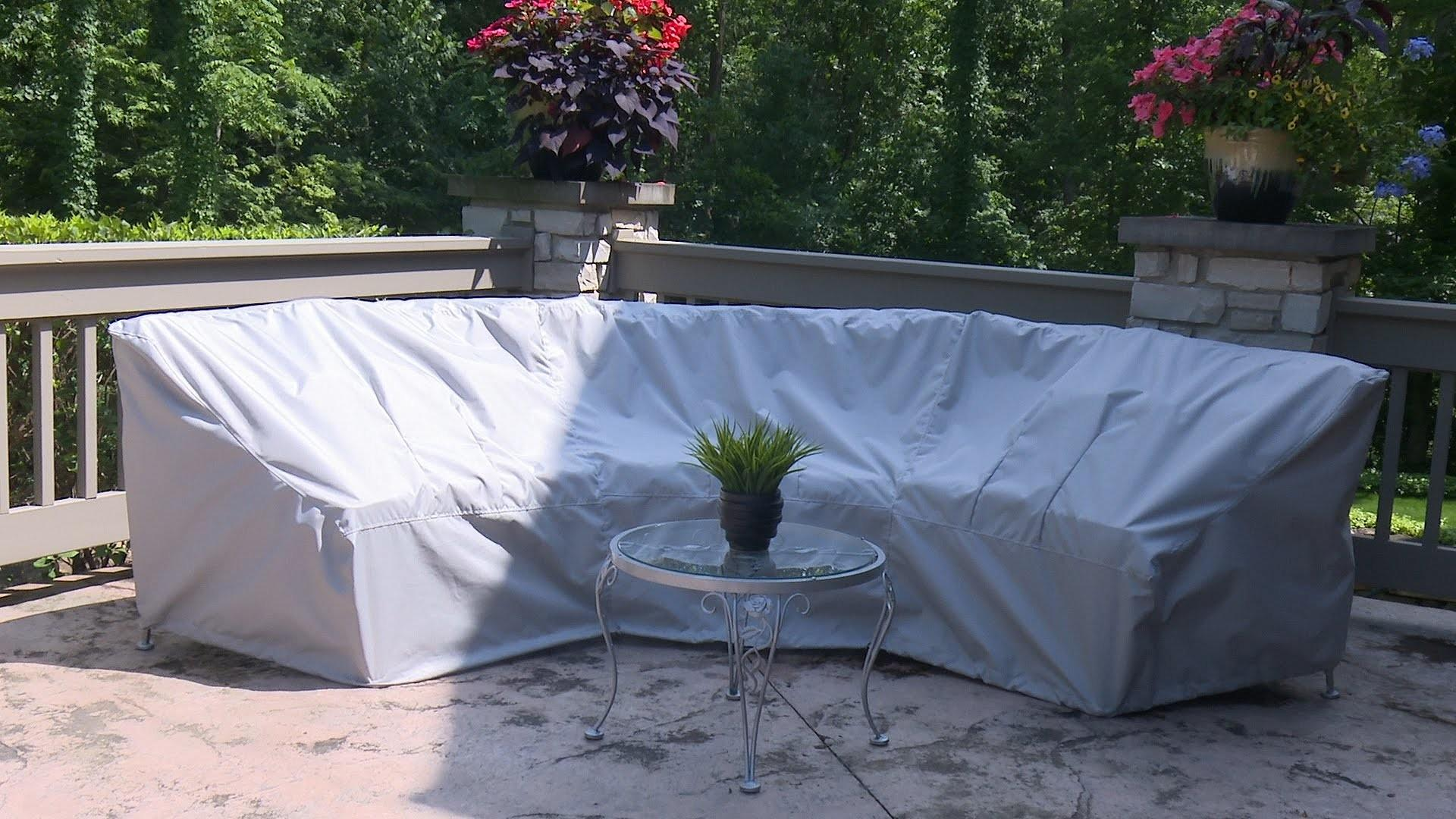 Make Cover Curved Patio Set Sewing