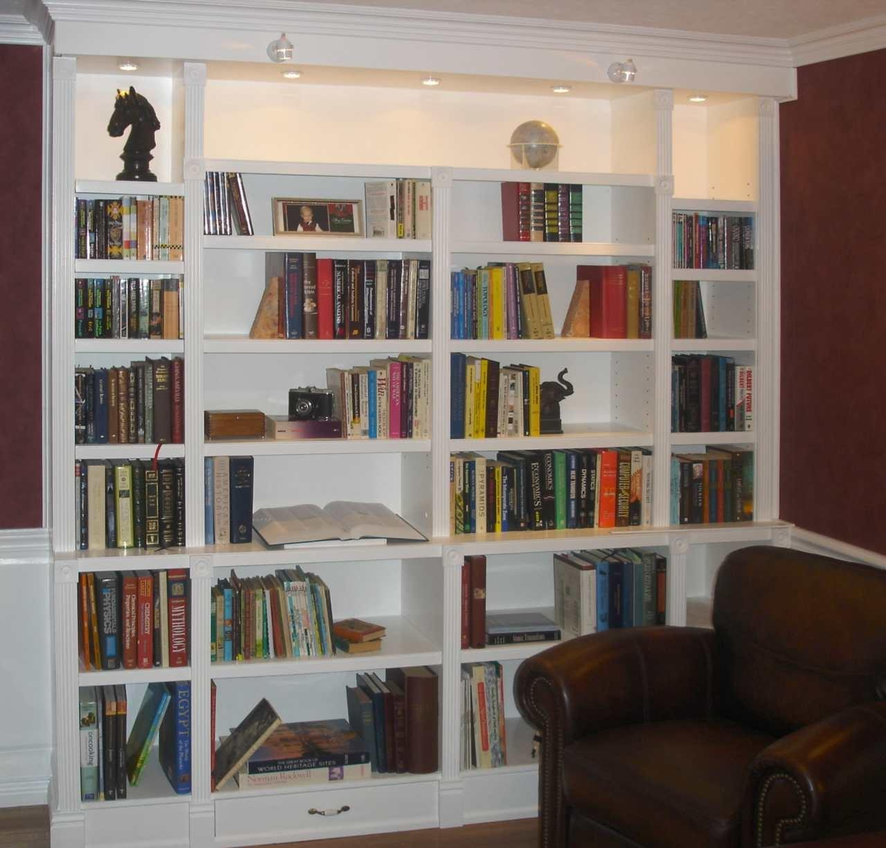 Make Custom Built Bookcases Woodguides