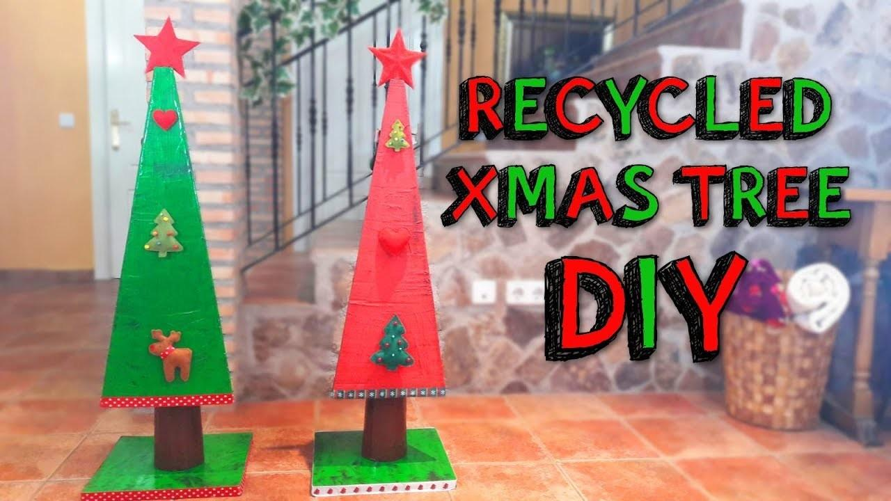 Make Diy Christmas Recycled Decoration Country