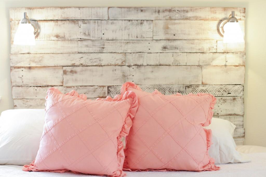 Make Diy Distressed Headboard Live Simply