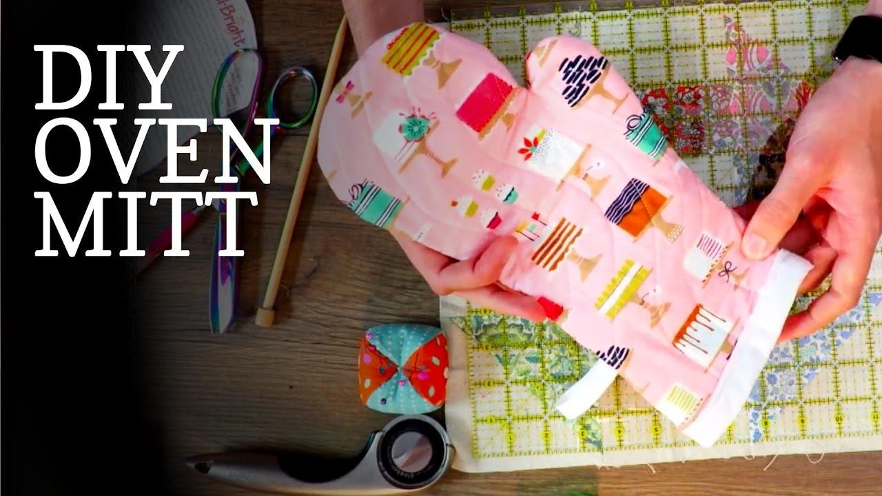 Make Diy Oven Mitts Crafts Projects