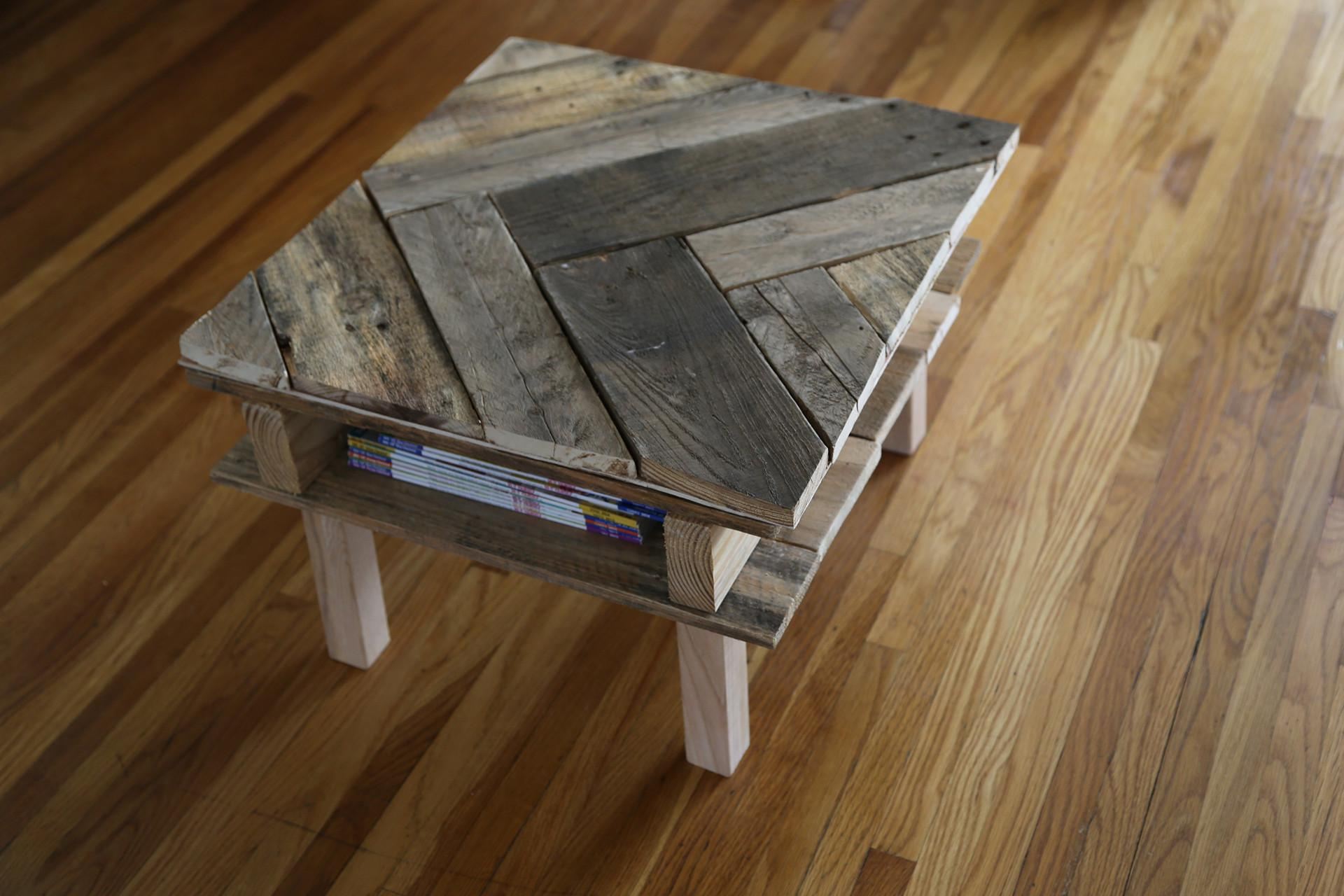 Make Diy Pallet Coffee Table Under