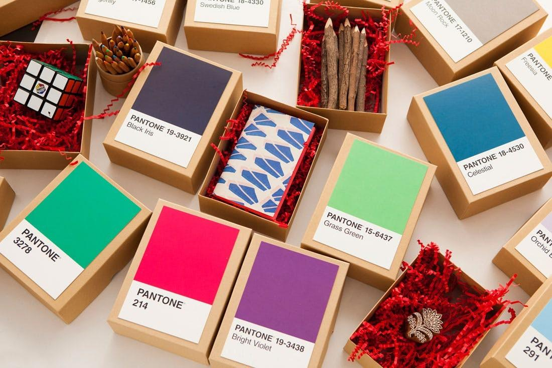 Make Diy Pantone Advent Calendar Under Minutes